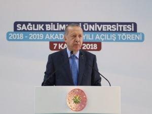 """Erdoğan: """"Türkiye'nin sağlık alanında yerlileşmeye ihtiyacı var"""""""