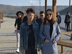 Çinli gazeteciler Takoran Vadisi'ni gezdi