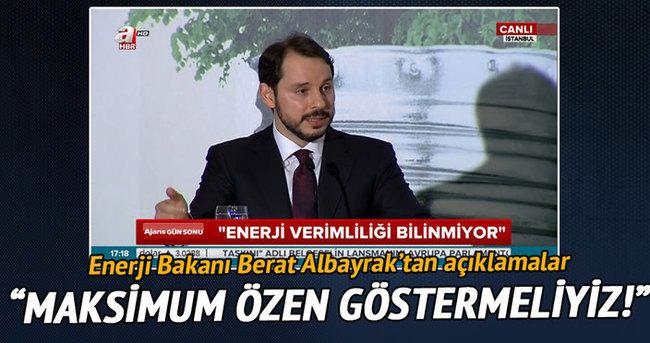 Enerji Bakanı Albayrak Enerji forumunda konuştu