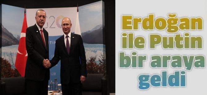 Berlin'de Erdoğan ve Putin görüşmesi yapıldı