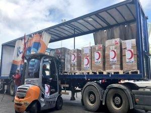 Gazze'ye 8,5 ton ilaç gönderildi