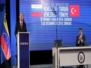 Cumhurbaşkanı Erdoğan, Türkiye - Venezuela İş Forumu'na katıldı