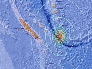 Yeni Kaledonya'da 7,5 büyüklüğünde deprem