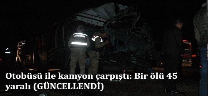 Diyarbakır'da feci kaza: Bir ölü 45 yaralı (GÜNCELLENDİ)