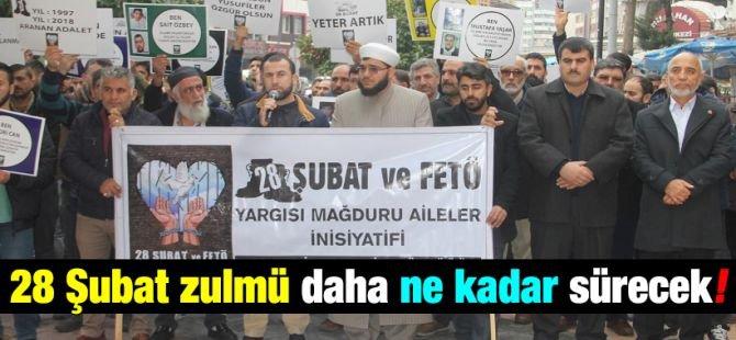 """Yusufi aileler: """"28 Şubat zulmü daha ne kadar sürecek!"""""""