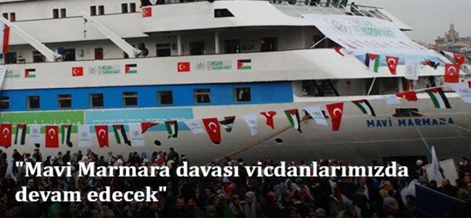 """Kartal: """"Mavi Marmara davası vicdanlarımızda devam edecek"""""""
