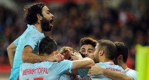 Viyana'da zafer, Avusturya 1-2 Türkiye
