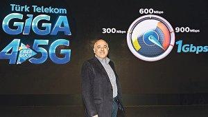 Türk Telekom Giga 4.5G hızıyla uçuracak