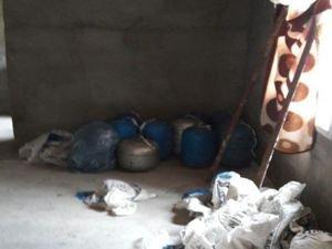 Nusaybin'de patlayıcı yakalandı
