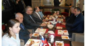 Moskova'da Türk-Rus dostluğu kahvaltısı