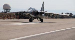 Rusya Su-25 uçağı düştü