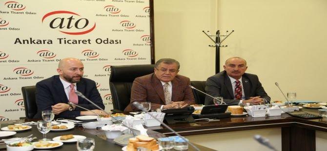 ATO'dan 'Ankara' istişare toplantılarına devam