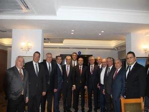 Fatih Metin EİB'nin konuğu oldu