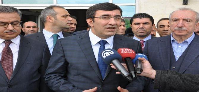 Kalkınma Bakanı Cevdet Yılmaz Cizre'de