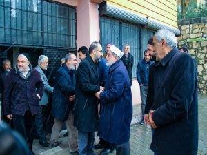 Sağlam'dan İTTİHADUL ULEMA Genel Başkanına taziye ziyareti