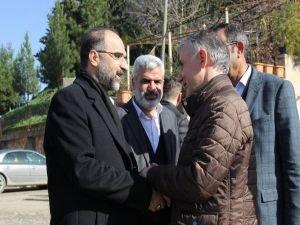 Sağlam'dan Kikan aşireti lideri Timurağaoğlu'na taziye ziyareti