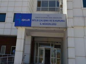 Bitlis'te bir yılda 7 bin kişi istihdam edildi