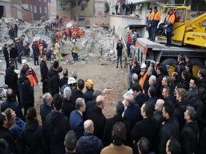 Bakan Soylu: Çöken binada 21 kişi hayatını kaybetti