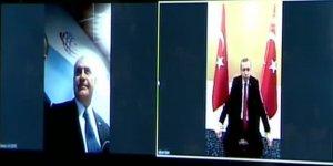 4.5G ile ilk görüşmeyi Cumhurbaşkanı Erdoğan ve Yıldırım yaptı