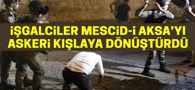 """""""İşgalciler Mescid-i Aksa'yı askeri kışlaya dönüştürdü"""""""