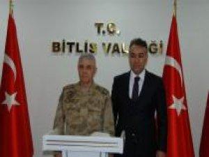 Jandarma Genel Komutanı Bitlis'te