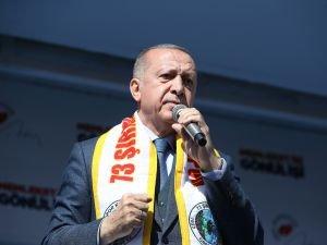 Cumhurbaşkanı Erdoğan: Şırnak Hazreti Nuh'un şehridir