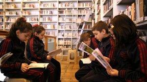 Turabibaba Kütüphanesi çocukların ilgisiyle karşılandı