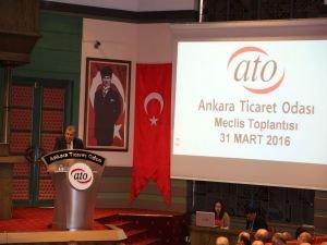 "ATO'dan Ankara'ya 3,5 Milyon TL'lik ""Can Suyu"""