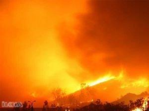 Orman yangınında 30 itfaiyeci öldü