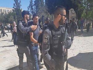 Mescid-i Aksa'nın onlarca bekçisi ve görevlisi alıkonuldu