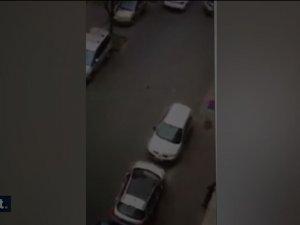 İslam düşmanları Müslüman kadına çarpıp kaçtılar