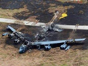 Taliban ABD'ye ait bombardıman uçağını düşürdü