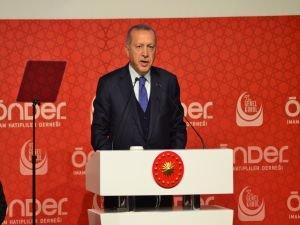 """Erdoğan: """"Elbirliğiyle medeniyet davamızı zirveye ulaştıracağız"""""""