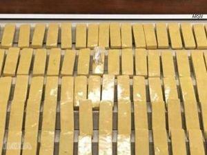 Limanda 55 kilo kokain ele geçirildi