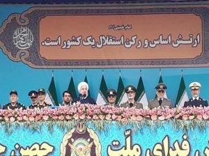 Ruhani: ABD'nin amacı bölge ülkelerinin bağımsızlığını yok etmektir