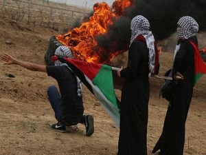 """""""Filistinli Esir Günü Cuması"""" gösterilerinde 37 kişi yaralandı"""