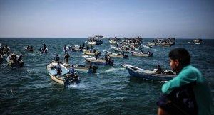 Gazzede ilkkez gazzeli balıkçılar 9 mil açıldı