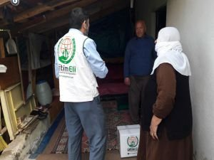 Avrupa Yetim Eli'nden Bingöl'deki muhtaçlara ramazan yardımı