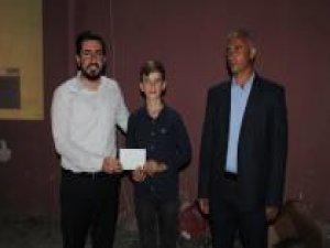 Siyer-i Nebi sınavında dereceye girenlere ödülleri verildi