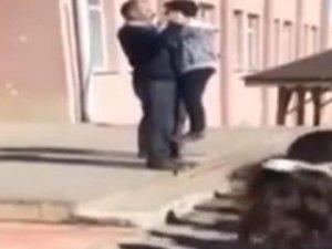 Çankırı'da tepki çeken görüntü: Okul müdürü görevinden alındı