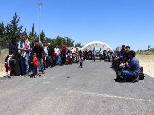 Yaklaşık 21 bin Suriyeli bayram için ülkesine gitti