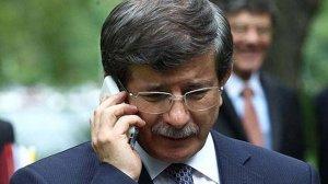 Davutoğlu'ndan Merkel'e kritik telefon görüşmesi