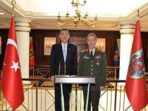 Japonya Ankara Büyükelçisi Genelkurmay Başkanı Akar'ı ziyaret etti