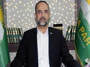 HÜDA PAR Genel Başkanı Sağlam'dan Regaib Kandili mesajı