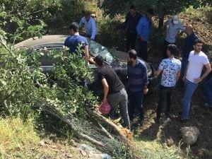 Bingöl'de trafik kazası: 2 yaralı
