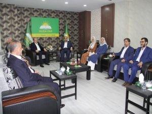 HÜDA PAR Diyarbakır İl Başkanlığından siyasi partilere bayram ziyaretleri