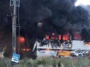 Kocaeli'deki fabrika yangını: 4 ölü 5 yaralı