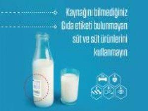 Süt ve süt ürünleri tüketirken dikkat!
