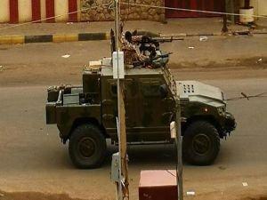 BAE'nin zırhlı araçları Sudan'da