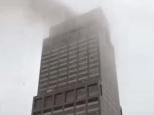 New York'ta helikopter kazası: Bir ölü